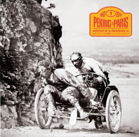 Endurance Rally Association Peking to Paris 2019