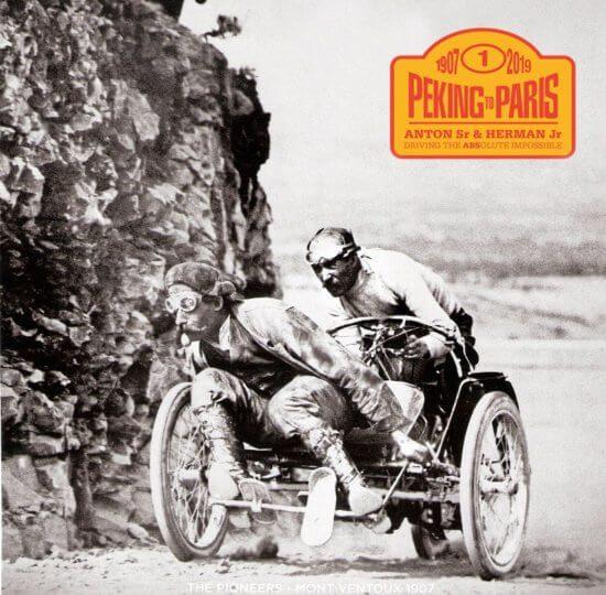 Endurance Rally Association Peking to Paris 2019