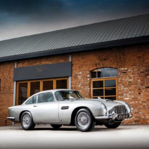 James Bond Aston Martin DB5 up for auction