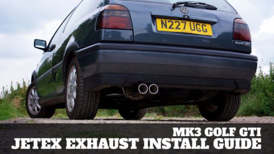 VW Golf Mk3 GTi Jetex Exhaust Install Guide