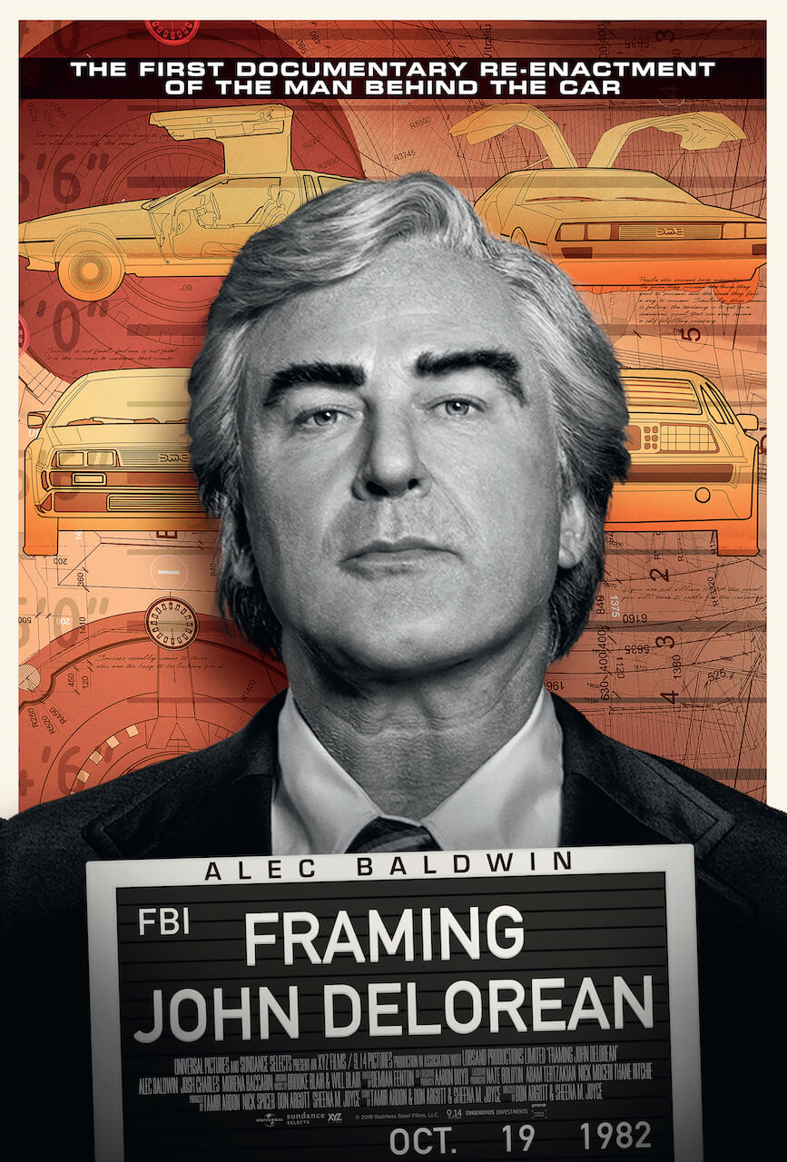 Framing John DeLorean - Exclusive interview with Tamir Ardon