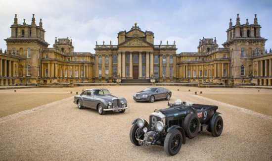 100 Years of Bentley Celebrated at Salon Privé Bentley Masters