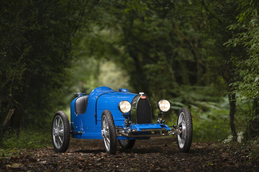 Bugatti Baby II Revealed at Bugatti's 110th Anniversary