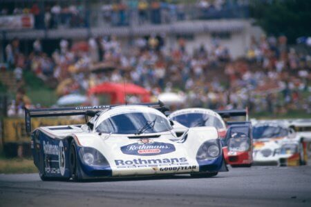 Rothmans Porsche 962C set for London Classic Car Show