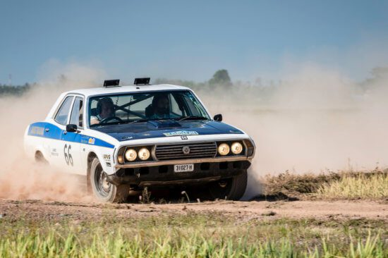 Rallying legend Gerry Crown joins Round the World Adventure