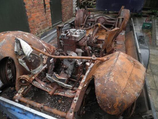 1934 Riley Lynx Burned Wreck Restored - Phoenix Book Review