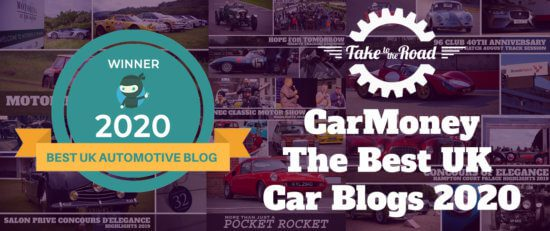 Take to the Road makes CarMoney Best UK Car Blogs 2020