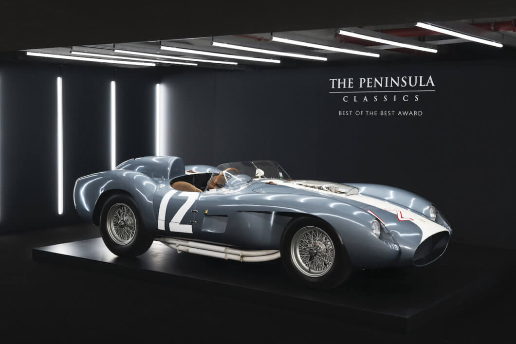 Historic 1958 Ferrari 335 S Spyder wins Best of the Best in Paris