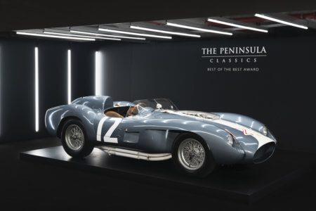 Historic 1958 Ferrari 335 S Spyder wins Best of the Best in Paris