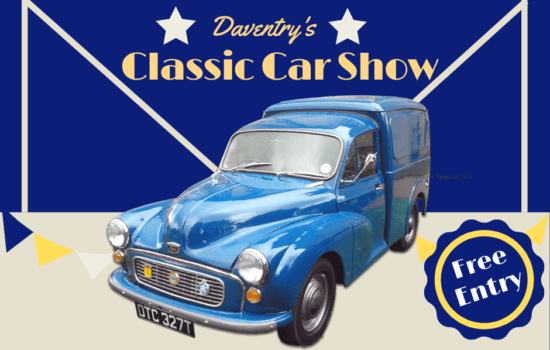 Daventry Classic Car Show set for last weekend in May