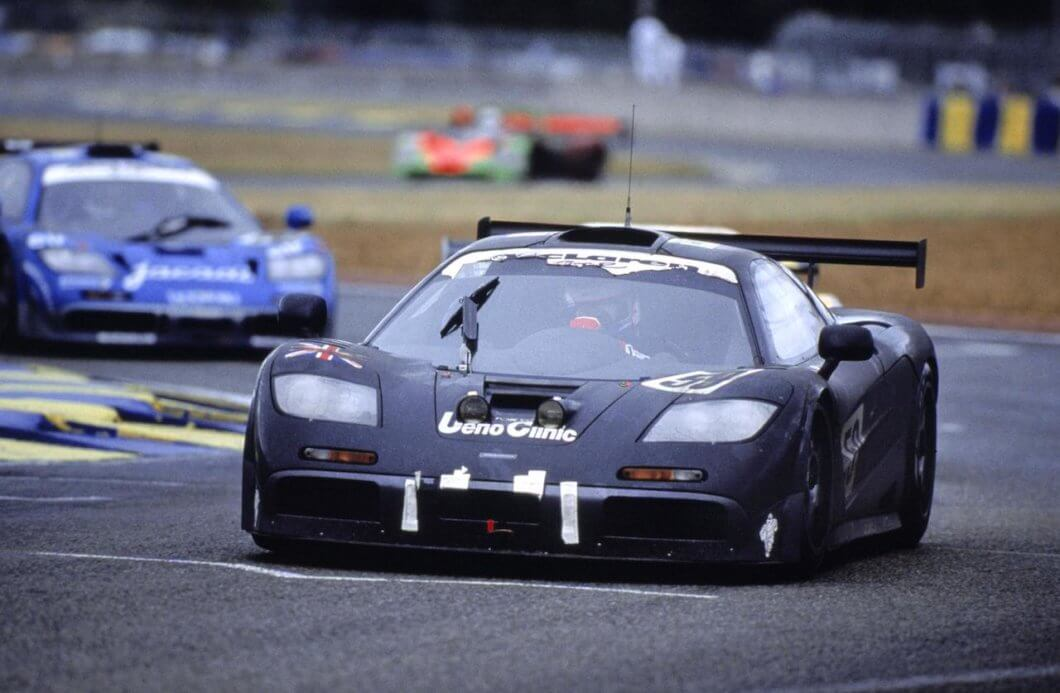 McLaren F1 GTR 25th Anniversary Concours of Elegance Display