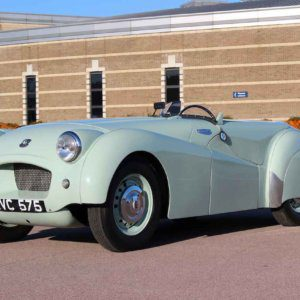 British Motor Museum saves Triumph TR2 prototype