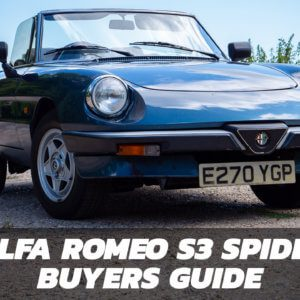 Alfa Romeo S3 Spider Buyers Guide