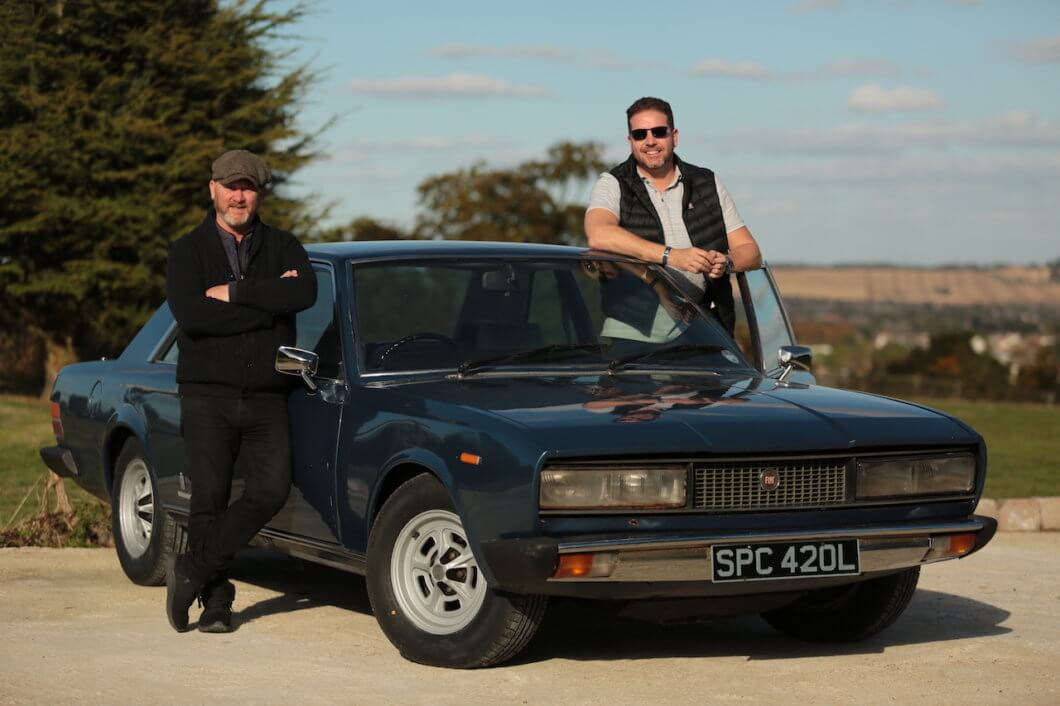 Drew and Paul of Salvage Hunters Classics Cars are back!