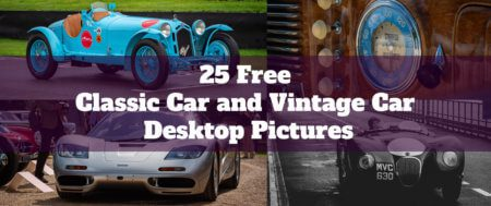 25 Free Classic Car and Vintage Car Desktop Pictures