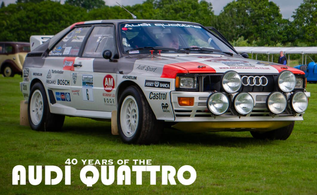 40 Years of the Audi quattro