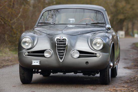 1955 Alfa Romeo 1900C Super Sprint Coupé with a twist