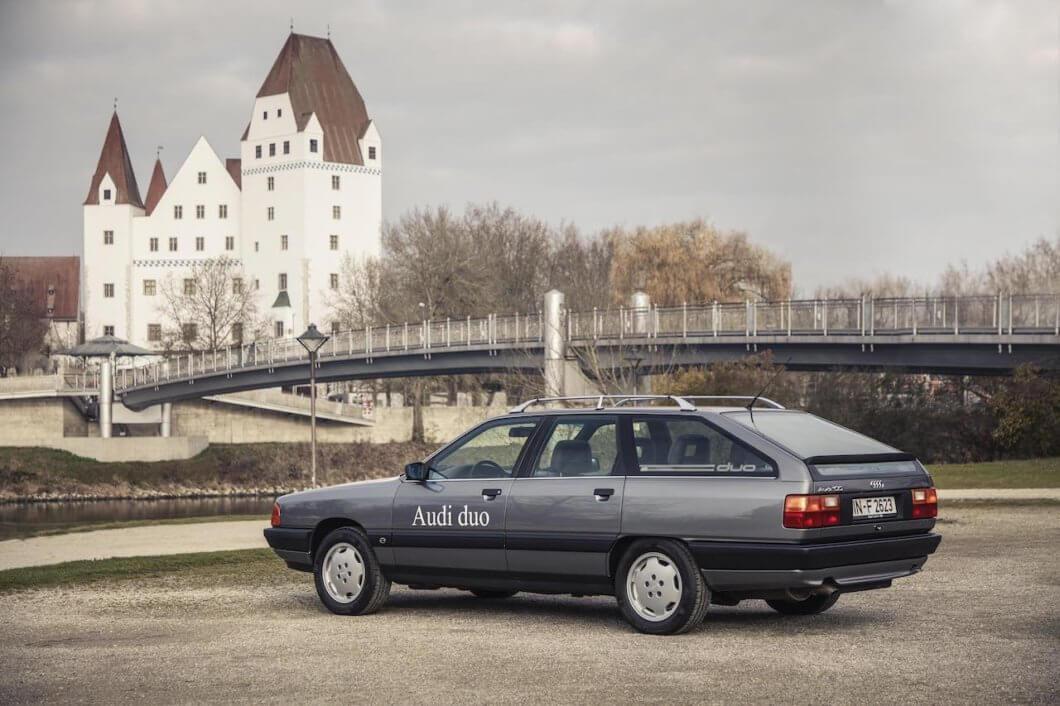 Audi 100 Avant quattro Duo inspires Audi's new Plug-In Hybrids