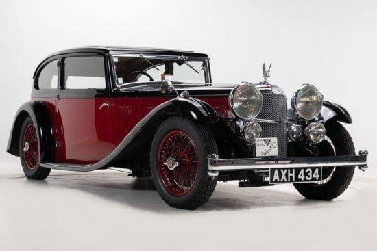 H&H offers rare 1934 Alvis Speed 20 SB Vanden Plas