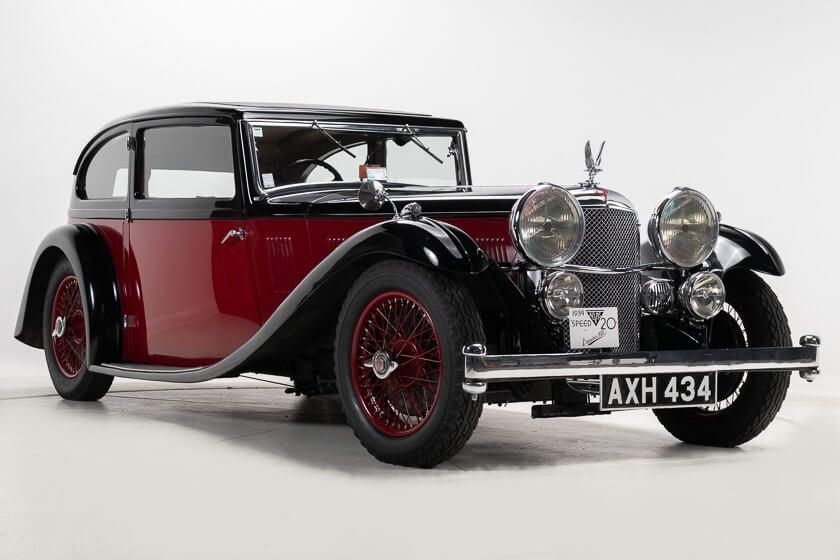 H&H offers rare 1934 Alvis Speed 20 SB Vanden Plas