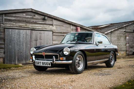 Super rare 1981 MGB GT V8 Special Edition heads to auction