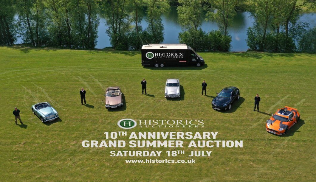 Historics 10th Anniversary Grand Summer Sale announced