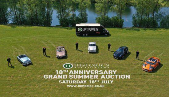 Historics 10th Anniversary Grand Summer Sale announced