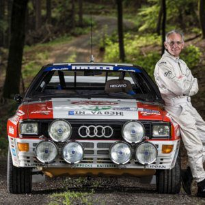 Audi UK Rally Team recall iconic game changing Audi quattro