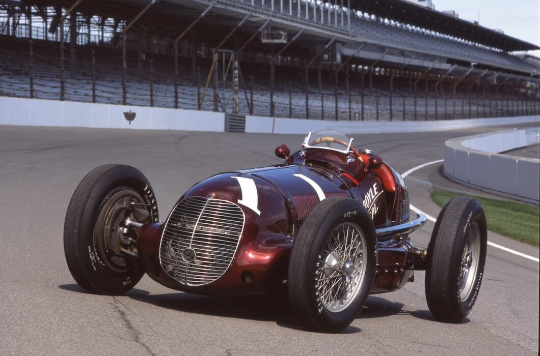 Maserati marks 8CTF victories at the Indianapolis 500