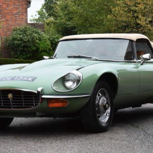 Kevin Keegan's 1972 Jaguar E-Type restored