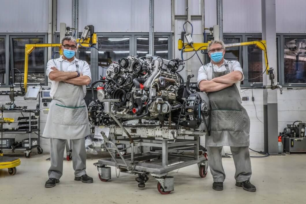 Bentley's longest serving V8 engine ends production