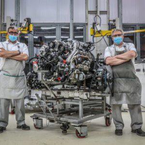 Bentley's longest serving V8 engine ends production