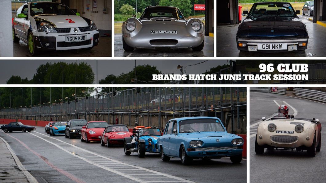 96 Club Track Day returns with first session of 2020