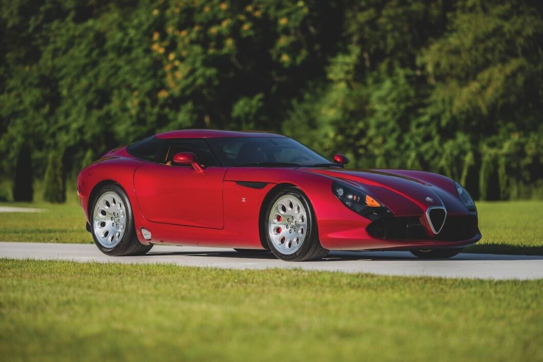 RM Sotheby's offers striking Alfa Romeo TZ3 Stradale Zagato