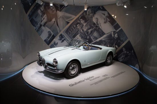 Alfa Romeo reopens its historic Museum on its 110th Birthday