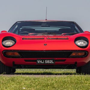 1972 Lamborghini Miura SV headlines at Silverstone Auctions