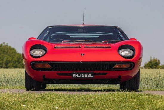 1972 Lamborghini Miura SV headlines at Silverstone Auctions