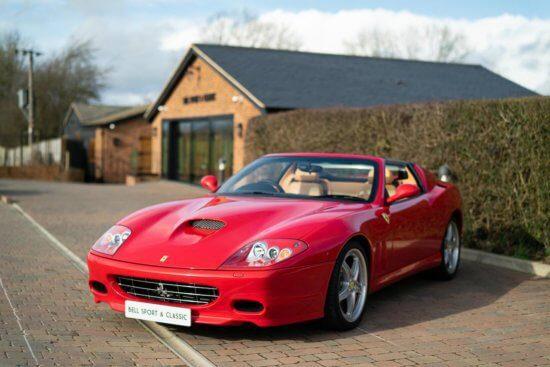 Ferrari 575 Superamerica with just 1800 miles goes on sale
