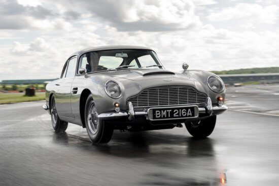 First DB5 in 50 years rolls off Aston Martin's production line