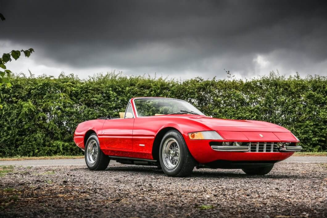 Historics to auction Ferrari 365 4 Daytona Spider Prototype