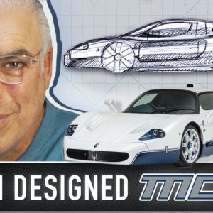Frank Stephenson on designing the Maserati MC12