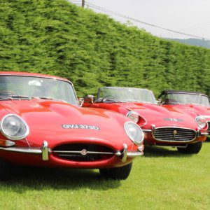 Celebrating 60 years of the Jaguar E-type at Shelsley Walsh Hillclimb