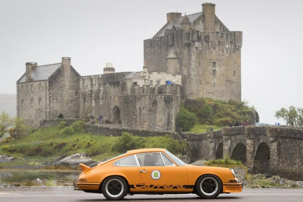 Highland 1000 set for UK's first post-lockdown classic car rally