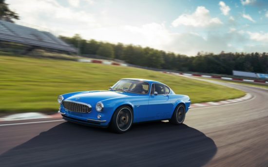 Cyan Racing unveils the Volvo P1800 Cyan