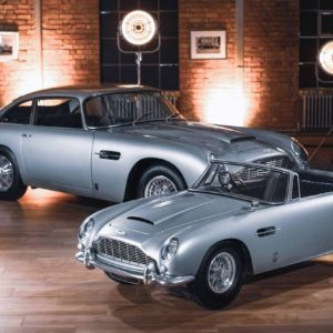 Aston Martin and The Little Car Company unveil DB5 Junior