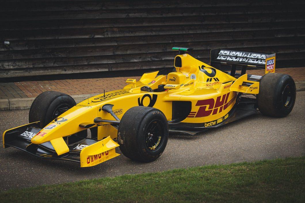 2002 Jordan F1 car driven by Takuma Sato heading to auction