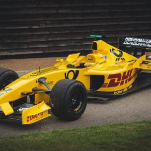 2002 Jordan F1 car driven by Takuma Sato heading to auction