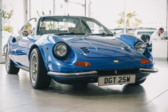 Fantastic Ferrari Dino recreation to be auctioned for charity