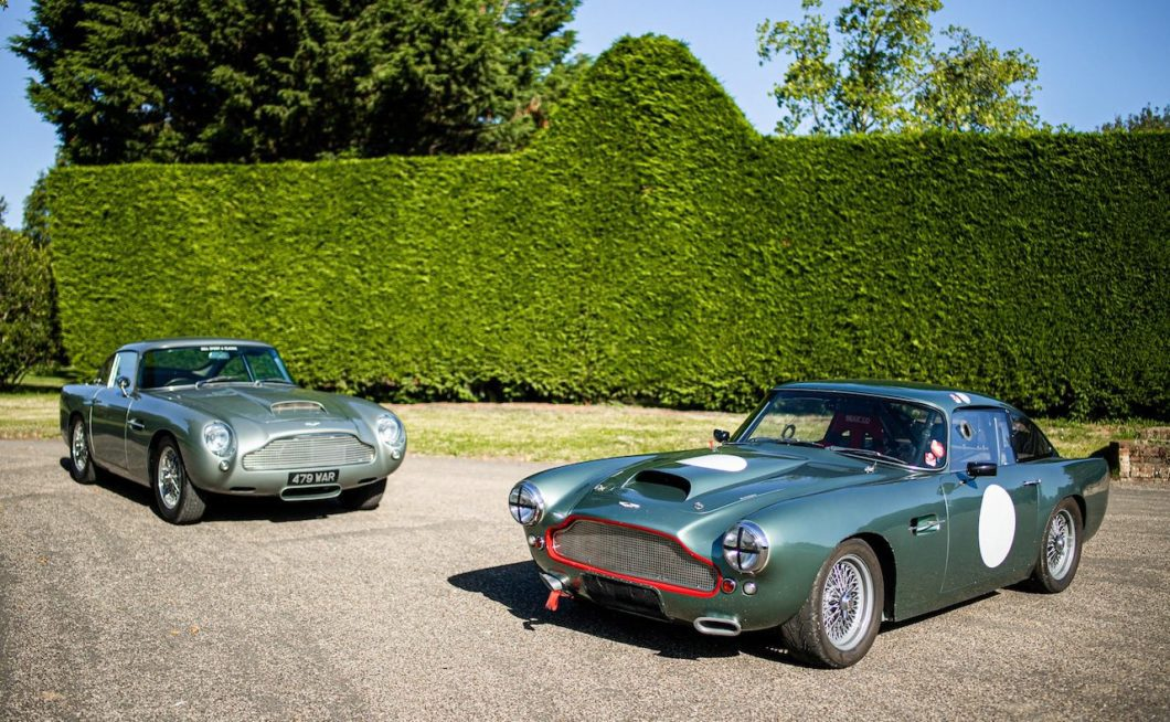 Two outstanding Aston Martin DB4 models go on sale