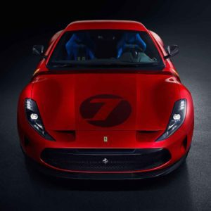 Striking one off Ferrari Omologata V12 unveiled